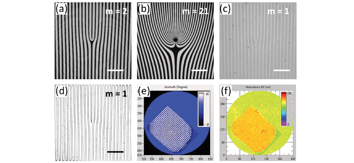 Adv. Mater., 26, 1590 (2014) Generating Switchable and Reconfigurable Optical Vortices via Photopatterning of Liquid Crystals